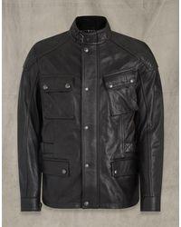 Belstaff Turner Leather Jacket - Black