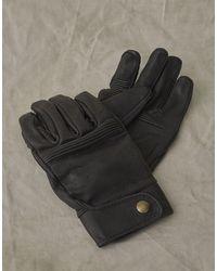 Belstaff Montgomery Handschuhe für Herren - Schwarz