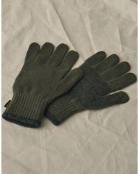 Belstaff Wool Gloves - Grey