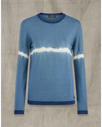 Belstaff Angela Crew Neck Jumper - Blue
