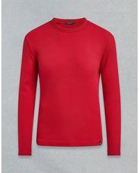 Belstaff Lerett Long-sleeve T-shirt - Red