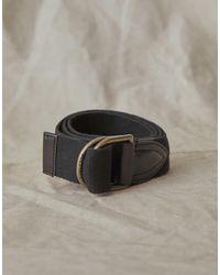 Belstaff Headley 4cm Leather Belt - Black