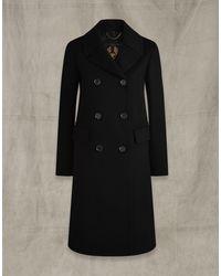 Belstaff Officers Coat - Black