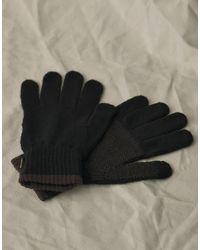Belstaff Wool Gloves - Black