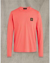 Belstaff LANGARM-T-SHIRT - Pink