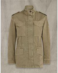 Belstaff Fern Cotton Jacket - Green