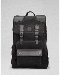 Belstaff Tourmaster Backpack - Black