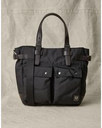 Belstaff Touring Tote Bag - Black