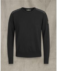 Belstaff Kerrigan Crew Neck Jumper - Black