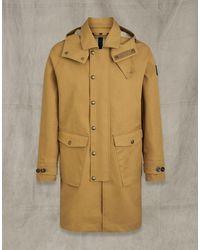Belstaff Pioneer Coat - Natural