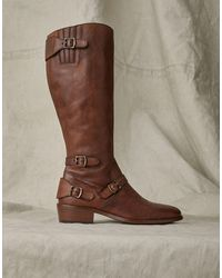 Belstaff Trialmaster Leather Boot - Brown