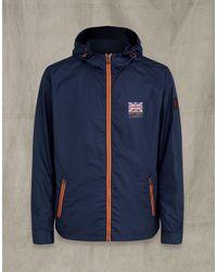Belstaff Britannia Windbreaker Jacket - Blue