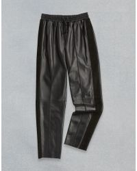 Belstaff - Enid Leather Trousers - Lyst