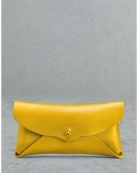 Belstaff Spruce Sunglasses Case - Yellow