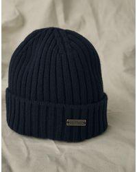 Belstaff Watch Wool Hat - Blue