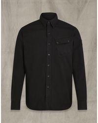 Belstaff Pitch Cotton Twill Shirt - Black