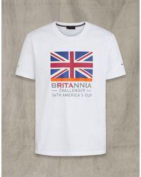 Belstaff Britannia Trophy T-shirt - White