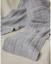 Belstaff City Cable Scarf - Gray