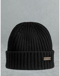 Belstaff Watch Wool Hat - Black