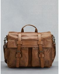 Belstaff - Colonial Messenger Shoulder Bag - Lyst