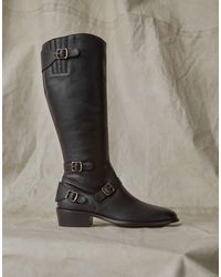 Belstaff Trialmaster Leather Boot - Black