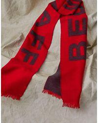 Belstaff England 1924 Scarf - Red