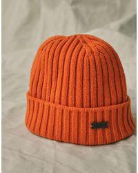 Belstaff Watch Hat - Orange