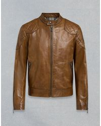 Belstaff Outlaw Leather Jacket - Brown