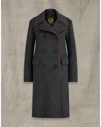 Belstaff Officers Coat 2.0 - Gray