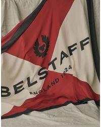 Belstaff Quarter Scarf - Red