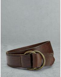 Belstaff Collier 4cm Belt - Brown