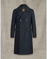Belstaff Milford Coat - Blue