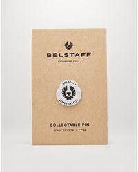 Belstaff Supporters Club Enamel Badge - Metallic