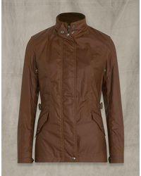 Belstaff Adeline Waxed Cotton Jacket - Brown
