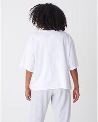 Bemushop Oversize Basic White T-shirt