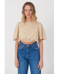 Bemushop Basic T-shirt - Blue