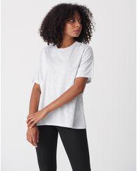 Bemushop Oversize Basic T-shirt - White