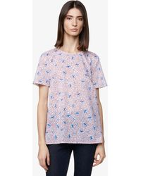 Benetton Blouse All-over - Violet
