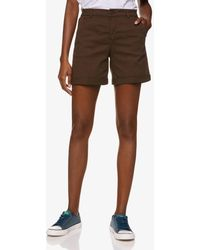 Benetton Short Stretch - Marron
