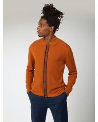 Ben Sherman - Button Through Mod Cardigan - Lyst