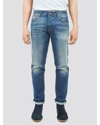 Ben Sherman Slim Six Month Vintage Jeans - Blue