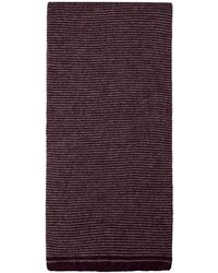 Ben Sherman - Striped Knitted Scarf - Lyst