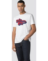 Ben Sherman - Retro Text T-shirt - Lyst
