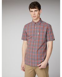 Ben Sherman Red Archive Carnaby Shirt