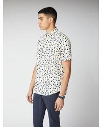 Ben Sherman Handpainted Print Shirt - Multicolour