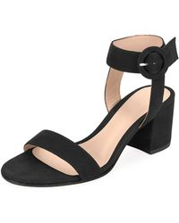 Gianvito Rossi - Portofino Suede City Sandals - Lyst