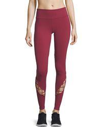 Alo Yoga - Entwine Lace-up Full-length Leggings - Lyst