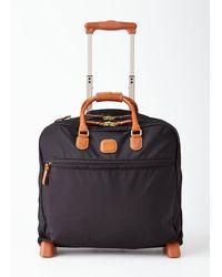 Bric's Black Rolling Pilot Case Luggage