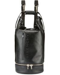 Givenchy Men's Jaw Large Faux-leather Hybrid Bag - Black