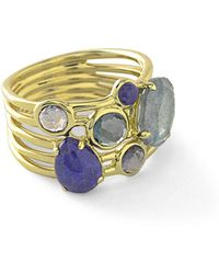 Ippolita - 18k Rock Candy Gelato 6-stone Cluster Ring In Liberty - Lyst